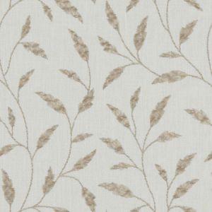 F1122/05 FAIRFORD Natural Clarke & Clarke Fabric