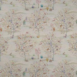 F1147/01 COPPICE Autumn Cream Clarke & Clarke Fabric