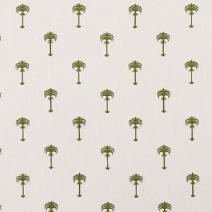 F1369/01 MENARA METALLIC Olive Clarke & Clarke Fabric