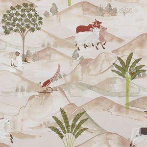 F1371/01 SAHARA Apple Blush Clarke & Clarke Fabric