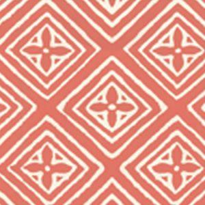 2490-08WP FIORENTINA New Shrimp On Tint Quadrille Wallpaper