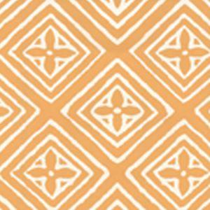 2490-48WP FIORENTINA Yellow On Almost White Quadrille Wallpaper