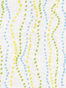 6370-02 GINZA Inca Aqua Jungle Quadrille Fabric