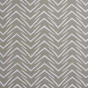 GWF-2620-116 HERRINGBONE Jute White Groundworks Fabric