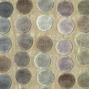 GWF-3054-711 AVERY DOTS Mauve Taupe Groundworks Fabric