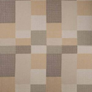 GWF-3756-161 GRIDLOCK Moccasin Groundworks Fabric