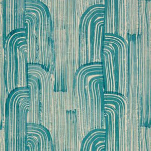 GWP-3304-316 CRESCENT PAPER Lake Cream Groundworks Wallpaper