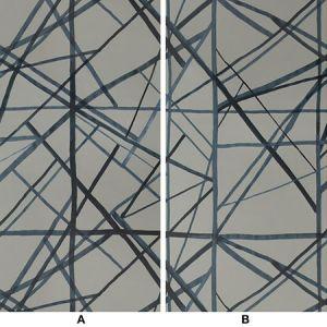GWP-3417-155 CHANNELS PAPER Slate Blue Groundworks Wallpaper