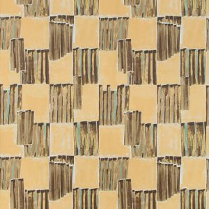 GWP-3722-166 LYRE PAPER Bronzed Groundworks Wallpaper