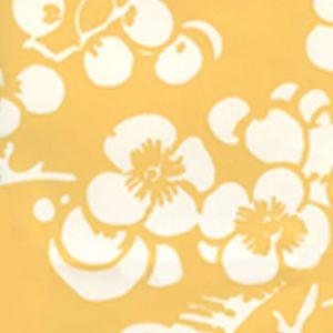 301-02AWP HAWTHORNE REVERSE New Ochre On Almost White Quadrille Wallpaper