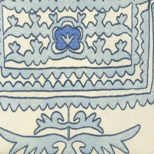 HC1990-04 CLEMENTINE Windsor Royal New Navy on Tint Quadrille Fabric