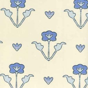 HC1995W-04OWP CLEMENTINE ALL OVER Windsor Royal Navy On Off White Quadrille Wallpaper