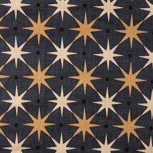 HN 0005 42023 STAR POWER Charcoal Scalamandre Fabric