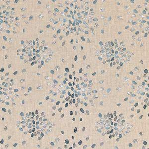 HN 0006 42000 FIREFLY Slate Blue Scalamandre Fabric