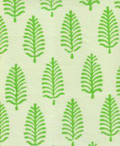 HC1940-04 PINEWOOD Green on Tint Quadrille Fabric