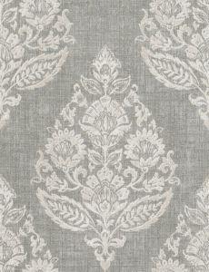 META MEDALLION Stone Fabricut Fabric