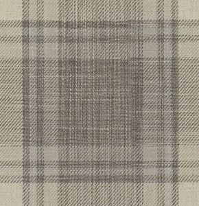 MOTEN PLAID Slate Fabricut Fabric