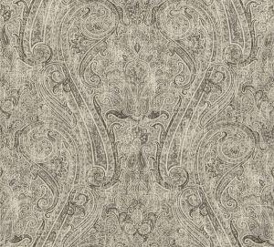 LICATA PAISLEY Charcoal Fabricut Fabric