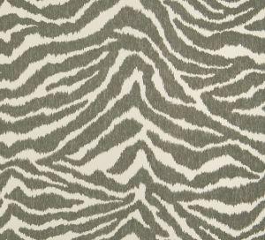 JUNGLE CAT Thunder Fabricut Fabric