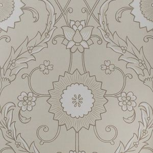 50202W MATHILDE Nougat 01 Fabricut Wallpaper