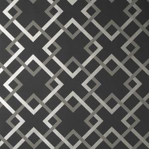 50174W CARREFOURS Midnight 06 Fabricut Wallpaper