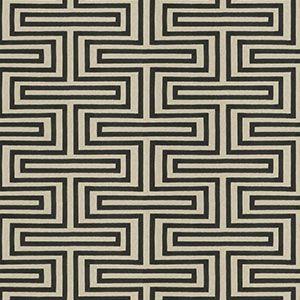 BONNEVUE Charcoal Fabricut Fabric