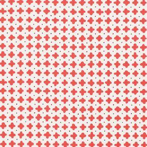 178241 POLKA Red Schumacher Fabric