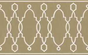 99/3017-CS PARTERRE BORDER Gold Cole & Son Wallpaper