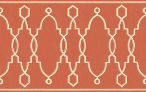 99/3018-CS PARTERRE BORDER Red Cole & Son Wallpaper