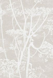 F111/5019-CS COW PARSLEY Taupe Cole & Son Fabric