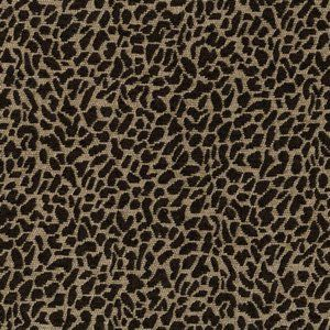 LEOPARD Brown Norbar Fabric