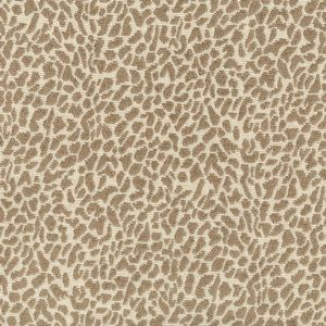 LEOPARD Sand Norbar Fabric