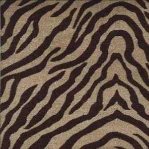 TIGER Black Norbar Fabric