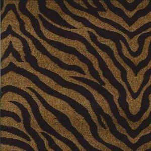 TIGER Gold Norbar Fabric