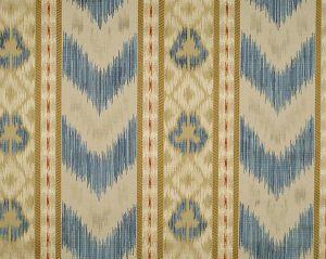 CL 000226416 UNGHERESE RIGATO Multi Blues Creams Scalamandre Fabric