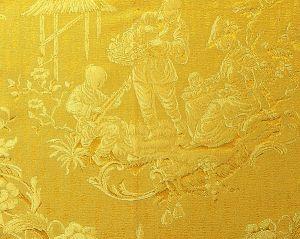 CL 000526259 RACCONIGI Giallo Scalamandre Fabric