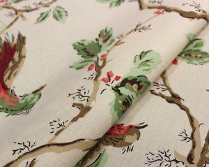 H0 00021620 MANDARIN BALANCOIRE Vert Scalamandre Fabric