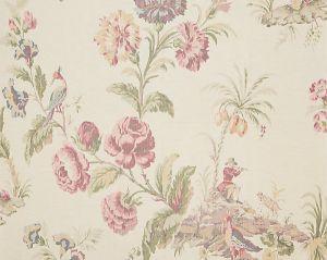 16585-001 SOMERSET SILK WARP PRINT Bloom Scalamandre Fabric