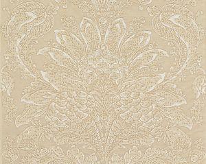 27081-001 CARLOTTA DAMASK Bisque Scalamandre Fabric