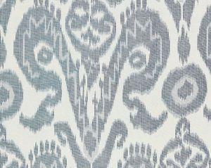 27097-001 BUKHARA SILK IKAT Indigo Scalamandre Fabric
