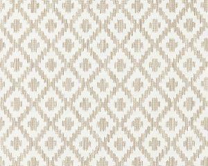 27098-001 MALAY IKAT WEAVE Flax Scalamandre Fabric