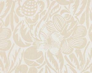 27131-001 DECO FLOWER Linen Scalamandre Fabric