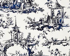 SC 0001WP88357 SUMMER PALACE Porcelain Scalamandre Wallpaper