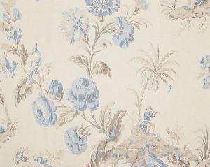 16585-002 SOMERSET SILK WARP PRINT Porcelain Scalamandre Fabric