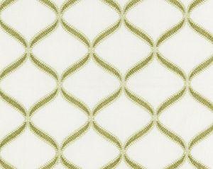 27074-002 RONDURE EMBROIDERY Fern Scalamandre Fabric