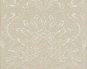 27081-002 CARLOTTA DAMASK Fog Scalamandre Fabric