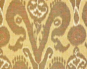 27097-002 BUKHARA SILK IKAT Spice Scalamandre Fabric