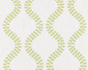 27127-002 FOGLIA EMBROIDERY Celery Scalamandre Fabric