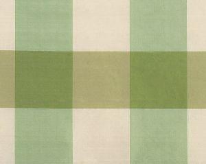 36291-002 WOODLAND CHECK Green Ivory Scalamandre Fabric