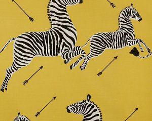 36378-002 ZEBRAS Yellow Scalamandre Fabric